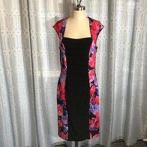 *3/$18*Dressbarn Floral Dress Size L